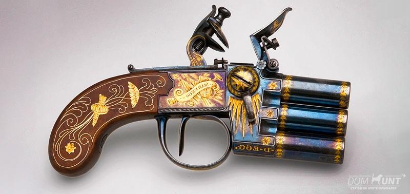 многоствольный пистолет